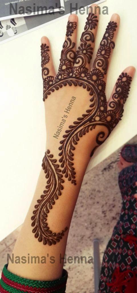 Latest Pakistani Mehndi - Henna Designs 2014-2015 - B & G ...  Latest Pakistan...