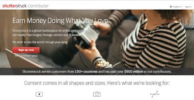 Catat, inilah conten yang paling banyak di cari di Shutterstock pada bulan Maret