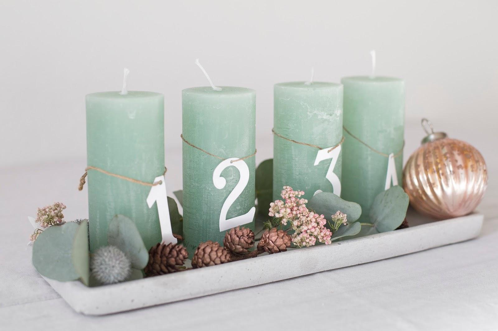 advent advent adventskranz diy detail lovin 39. Black Bedroom Furniture Sets. Home Design Ideas