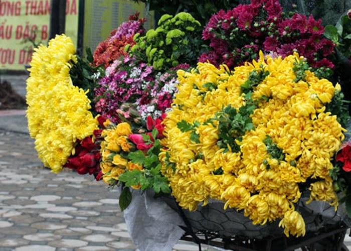 Những Đóa Hoa Thường Cắm Trong Gia Đình Ngày Tết 1