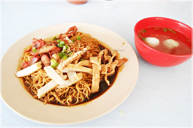 Dried Wantan Mee