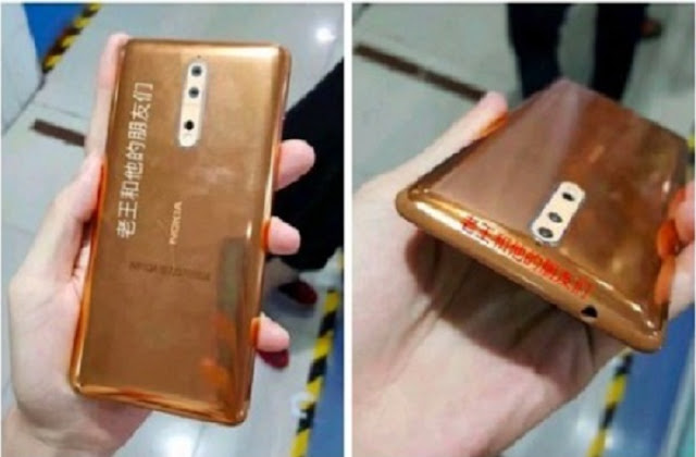 Nokia Legend Hadirkan Smartphone Nokia 8 Body Emas Mewah ?