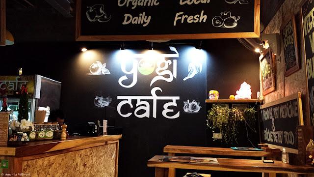 Yogi Cafe in Chaweng center, Koh Samui