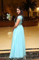Pujita Ponnada in transparent sky blue dress at Darshakudu pre release ~  Exclusive Celebrities Galleries 002.JPG