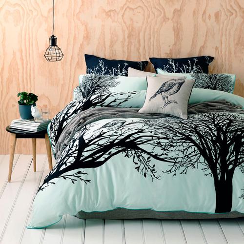 My Owl Barn: Owl Bedding in Mint