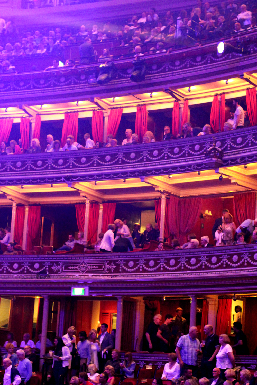 Proms crowd at the Royal Albert Hall - UK style & culture blog