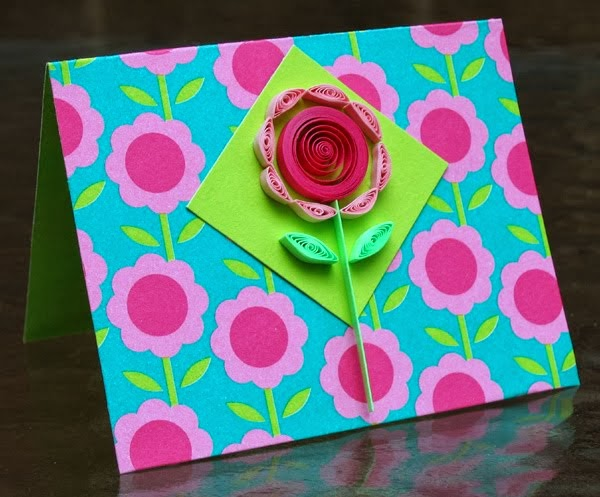 Quilled Flower Tutorial by Ann Martin