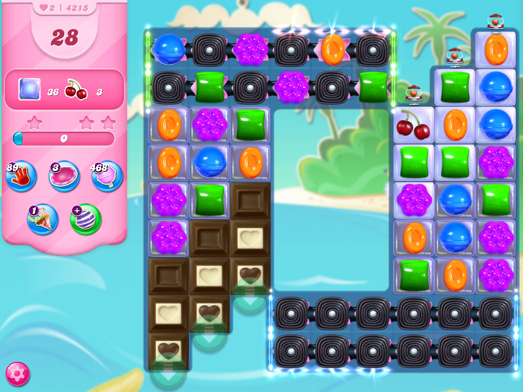 Candy Crush Saga level 4215