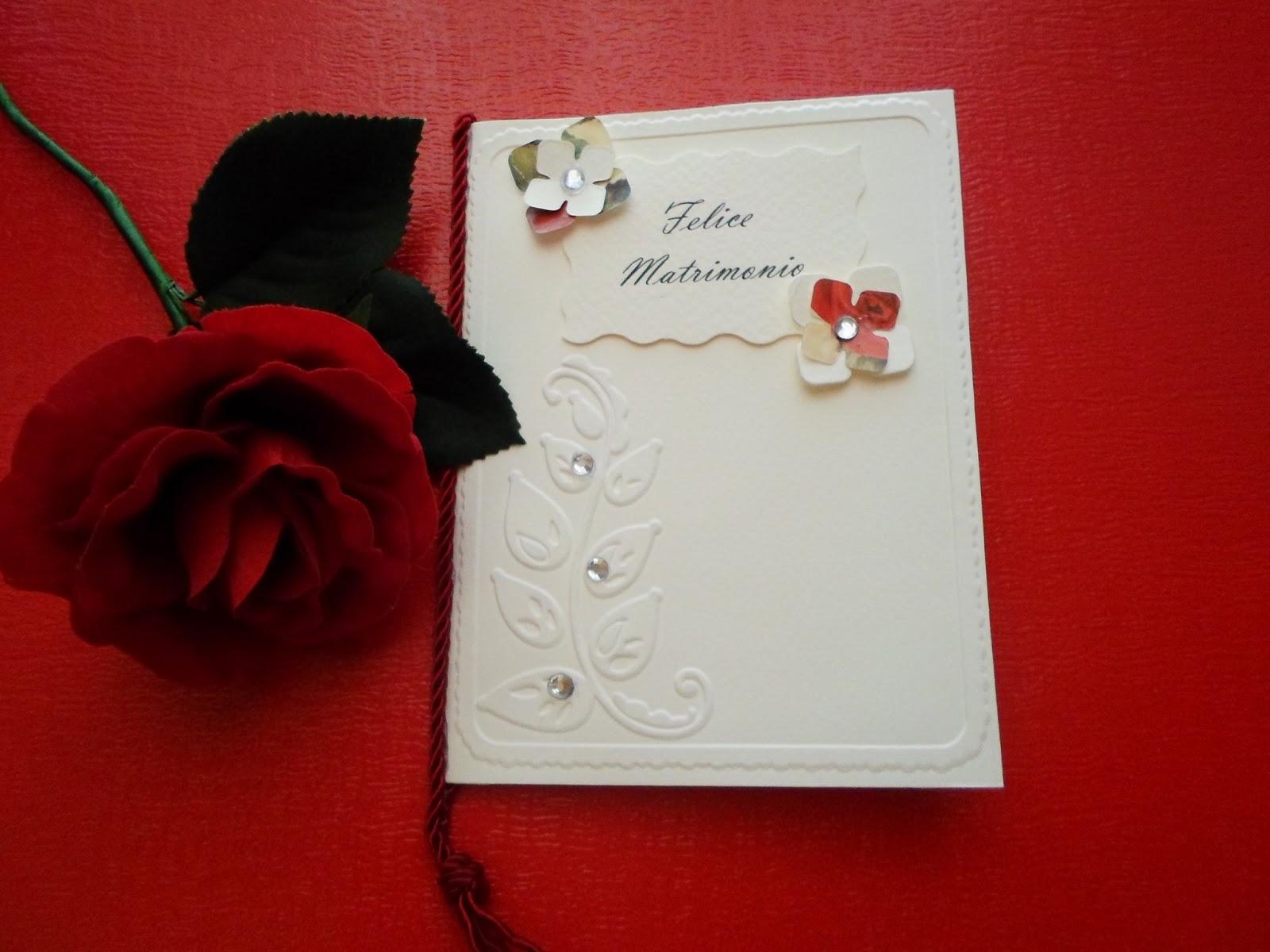 Auguri Matrimonio Vip : Preziose raffinatezze biglietto auguri matrimonio fai da te