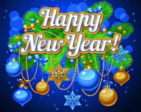Happy New Year 2016 3D Images 3D