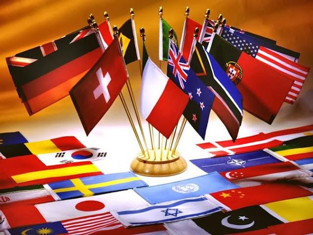 Daftar Lengkap Nama Negara-negara di Dunia