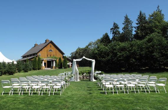 Wedding Inspiration Center: Beautiful Outdoor Wedding