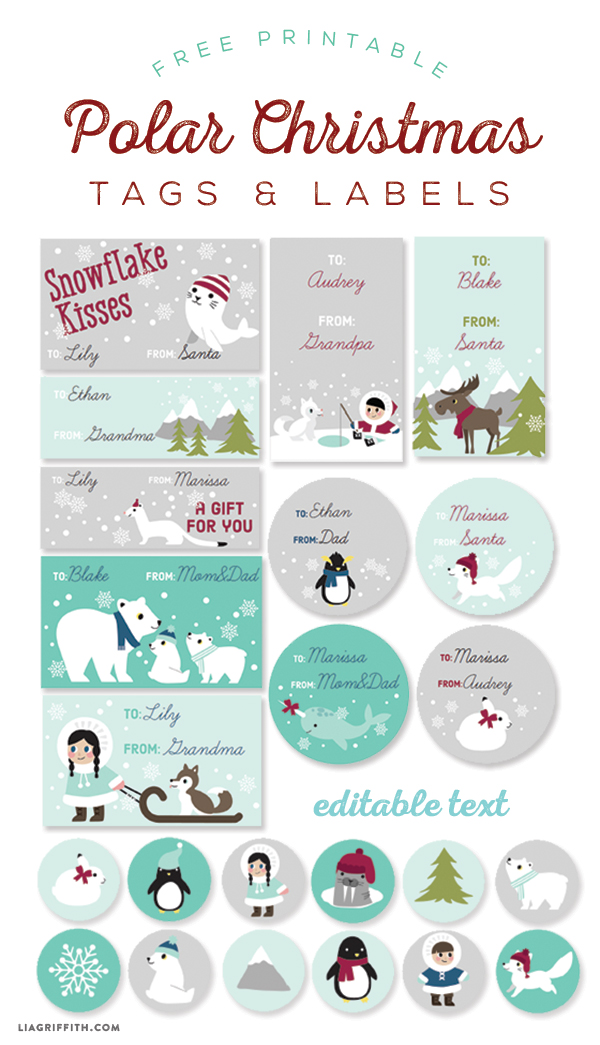 http://blog.worldlabel.com/2014/kids-polar-christmas-labels-and-tags.html