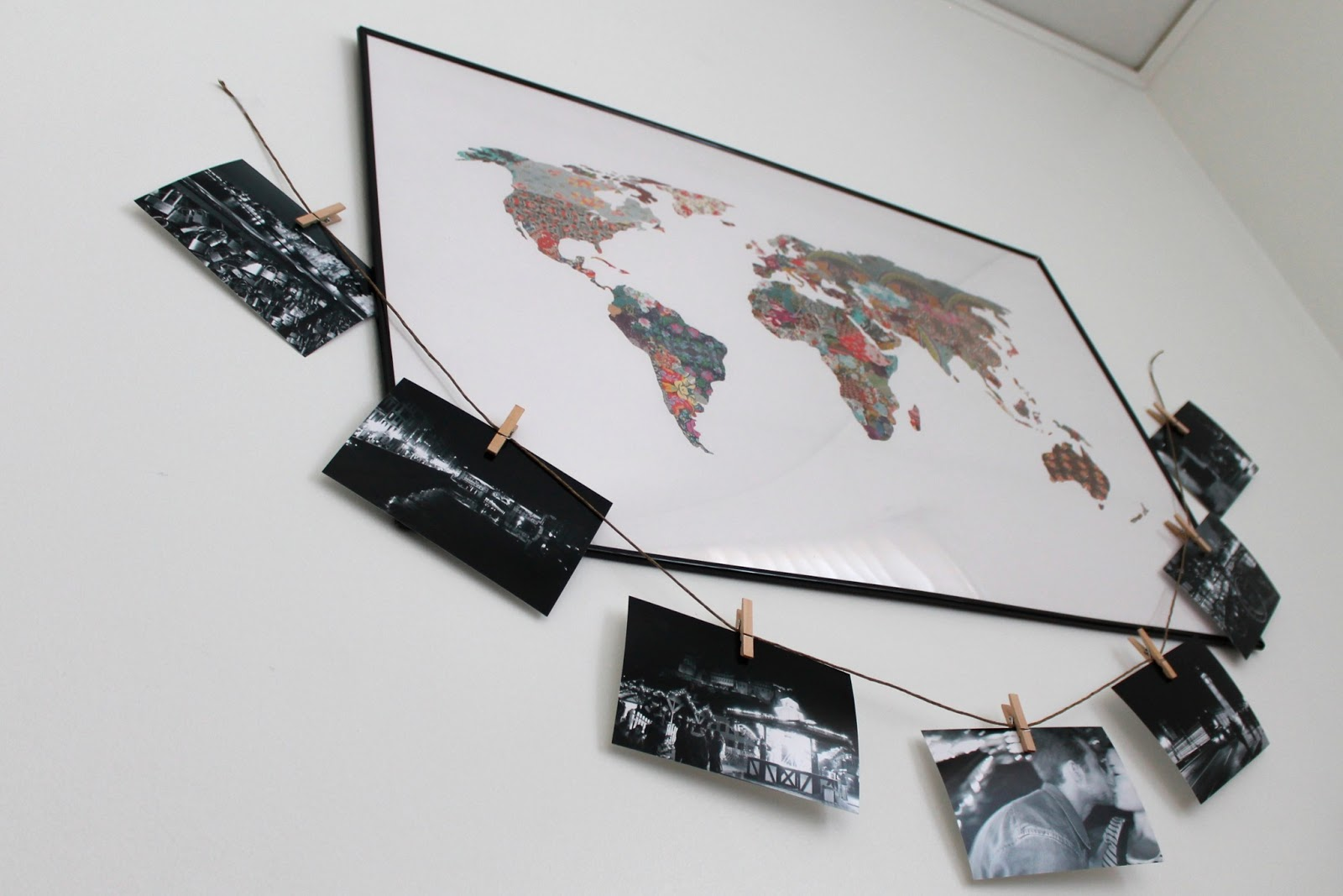 diy-black-and-white-photo-clothespin-collage-for-apartment