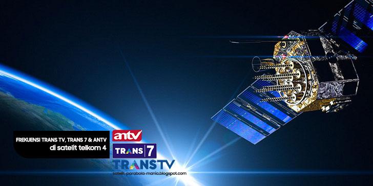 Inilah Frekuensi Terbaru Trans TV, Trans 7 dan Antv 2019