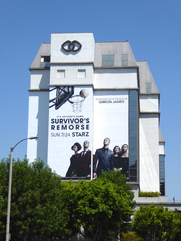 Giant Survivor's Remorse season 3 billboard