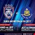 Live Streaming Pahang vs JDT FC Piala FA 1 April 2017