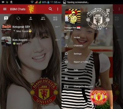 Download BBM Manchester United v3.0.1.25 APK