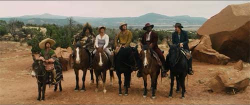 Rob Schneider, Jorge Garcia, Taylor Lautner, Adam Sander, Terry Crews, Luke Wilson in The Ridiculous 6
