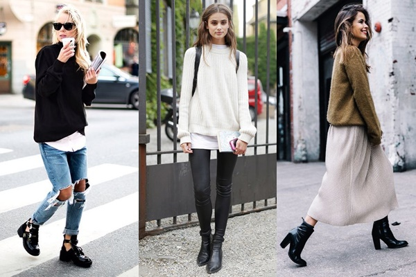 #ONTREND : BLACK BOOTIES  Blog Falling for A