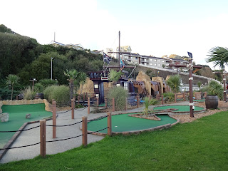 Pirates Cove Adventure Golf at Shanklin Seafront on the Isle of Wight