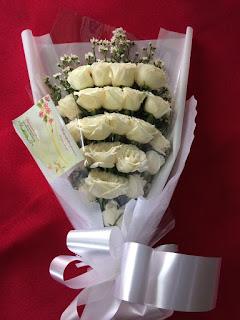 Habd Bouquet Roses (WS-156)