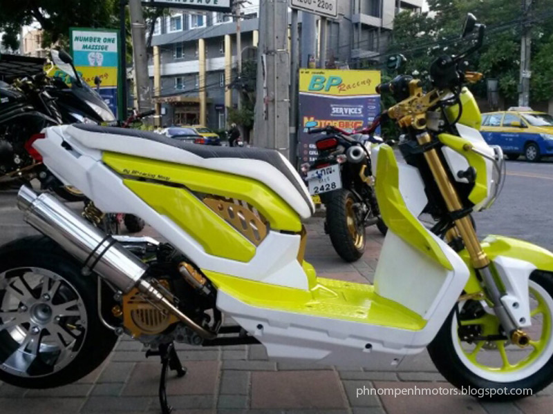 Honda Zoomer X Modification