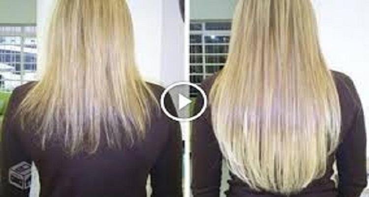 وصفة طبيعية رائعة لزيادة من  2 إلى 4 بوصات ( صم ) من شعرك في أسبوع واحد