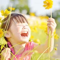 子供の笑顔、存在力