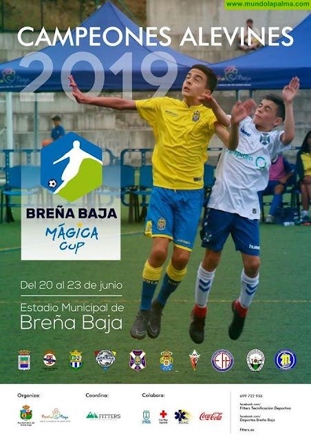 Breña Baja Mágica Cup, con los Campeones ALEVINES 2019