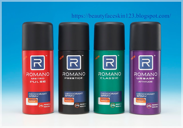 Romano Deodorant Spray