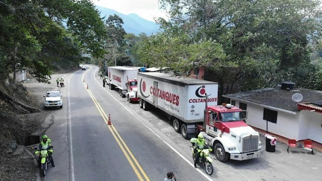 Llegó primera parte de la ayuda humanitaria en frontera colombiana con venezolana.
