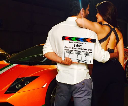 Jacqueline Fernandez and Sushant Singh Rajput New Upcoming hindi movie Drive Poster, release date