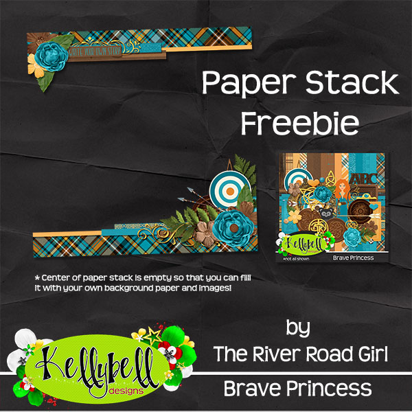Brave Princess from Kellybell Designs and a FREEBIE from me!!!