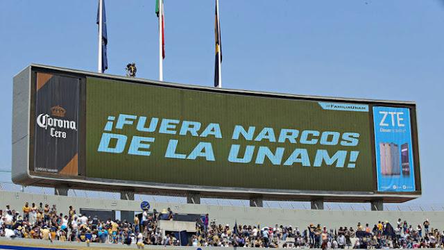 """""""No es tu amigo, es un narco"""", publica en su portada la UNAM"""