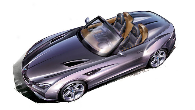 BMW Zagato Roadster design