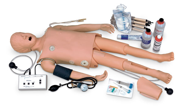 Nasco Child Crisis Manikin with ECG Simulator