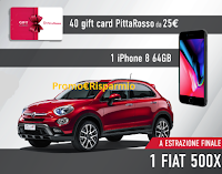 Logo ''Vinci con Reebok'': 1800 card Pittarosso, 45 Iphone, 1 Fiat 500X