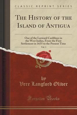 Vol v.2 The history of the island of Antigua