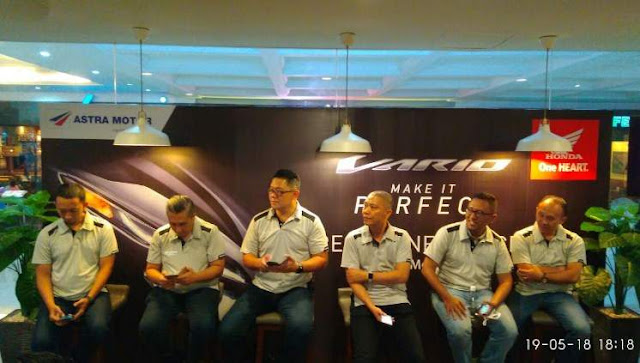 Regional Launching Vario 125 dan 150 Denpasar Bali 2018