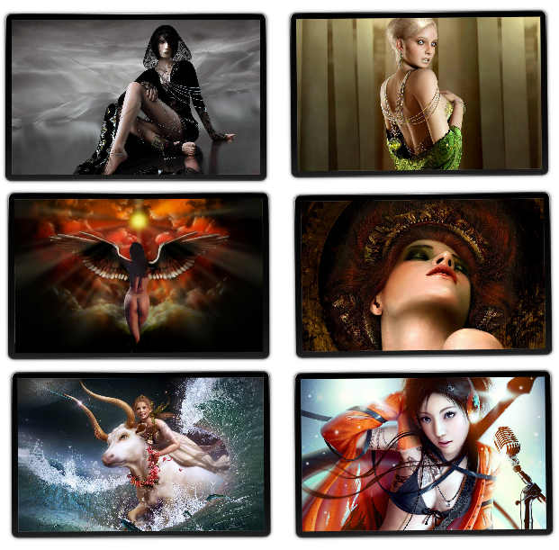 Wallpapers Fantasy Girls - Pack 7 [Zippyshare]