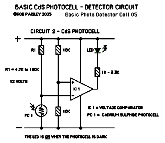 Image Photocell Sensor Circuit Download