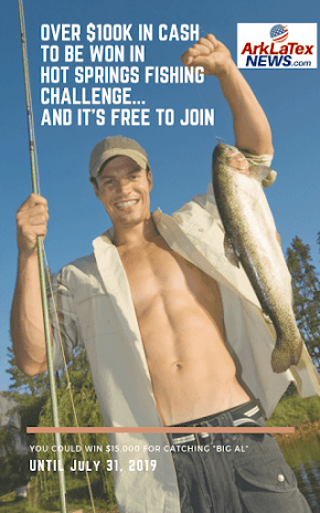More Money. More Fish: More than $100,000 cash to be won in Hot Springs Fish Challenge 2019