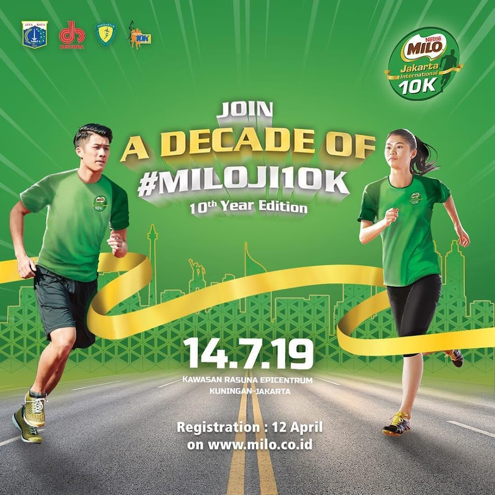Milo Jakarta International 10K • 2019