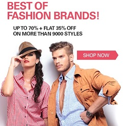 Steal Deal: Men's Clothing, Footwear, Accesories – Upto 70% Off + Extra 35% Off @ Ebay (No Minimum Purchase)