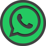 whatsapp icon outline