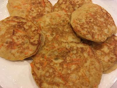 GF Carrot Cake Pancakes