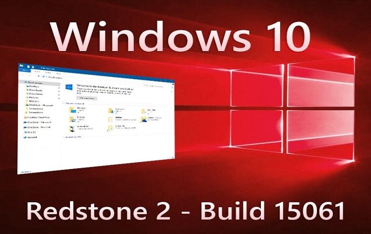 Windows 10 Build 15061 para PC y ISO de 15058 ya disponible