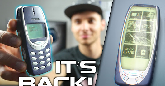 The Resurrection of Nokia's Legendary 3310. - Let Your Hair Down!