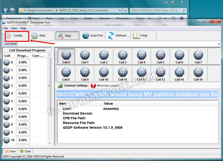 Firmware dan Cara Flash Advan I5C Lite Tested (Pac & CPB File)